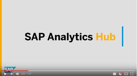 SAP Analytics Hub